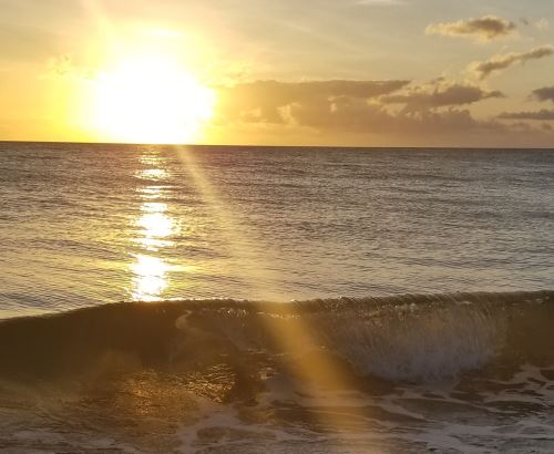 Hawaiian Hapuna Sunset